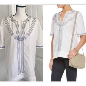 "Tory Burch ""Kennedy"" Embroidred Tunic"
